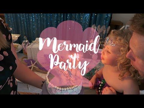 MERMAID PARTY! | Mila Roses 4th birthday