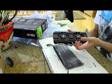 [HD] Asus Nvidia GTX 660 Non-Ti Unboxing and Benchmarks