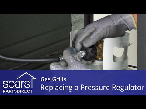 Replacing a Pressure Regulator on a Gas Grill