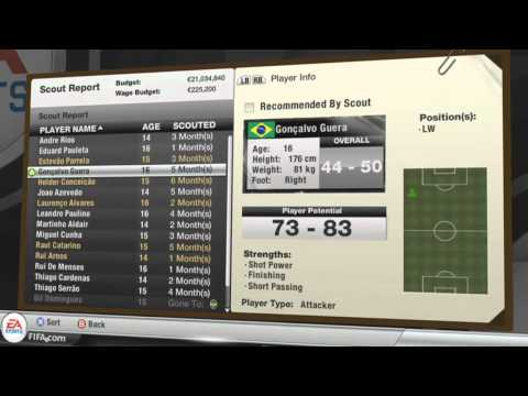 FIFA 12 Career Mode | Youth Academy