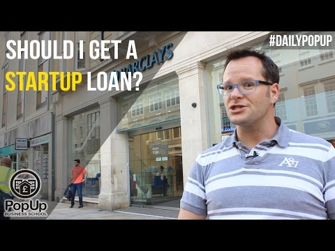 Should I Get a Startup Loan? │The Daily Popup #9