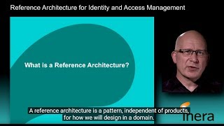 Reference Architecture for Identity and Access Management IAM
