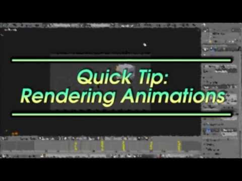 How to Render Animations in Blender