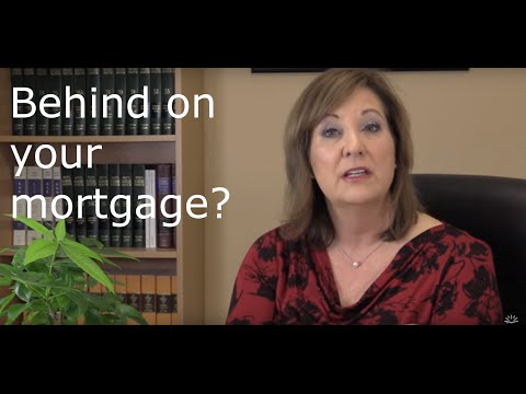 How to save your house if you are behind on your mortgage.