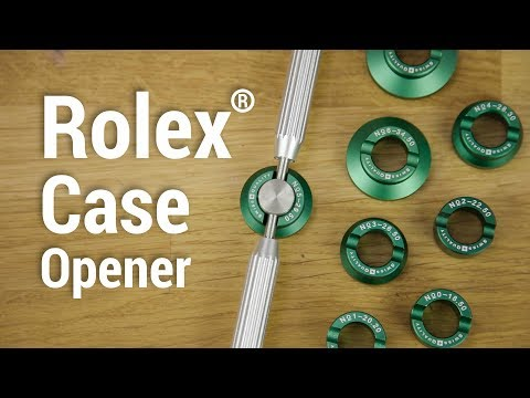 Watch Back Opening Tool Set for Rolex Watches