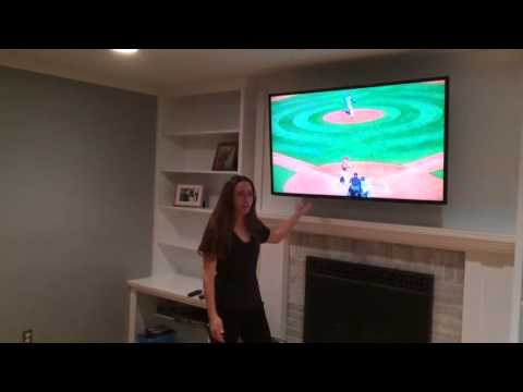 Best way to mount tv over fireplace!