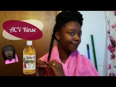Apple Cider Vinegar Rinse on 4c hair