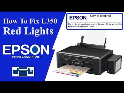 Resetter Epson L350  || Service Required || Adjustment Program