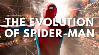 spiderman movie tv evolution 19672017 with homecoming trailer