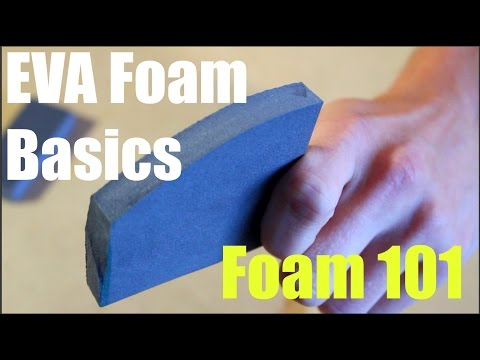 Foam 101 How To Cut, Shape, and Glue EVA Foam