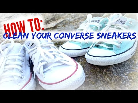 How To | Clean Your Converse Shoes