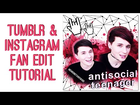 Tumblr and Instagram Fan Edit Tutorial