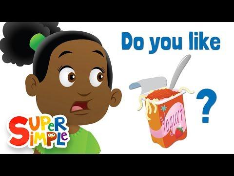 Do You Like Spaghetti Yogurt? | Super Simple Songs