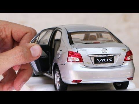 Unboxing of Toyota VIOS | Toyota Belta | Yaris Sedan 1:18 Scale Diecast Model Car