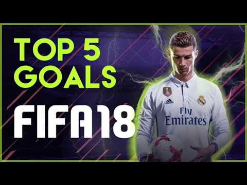 Fifa18 | Top 5 Goals Arabic commentary