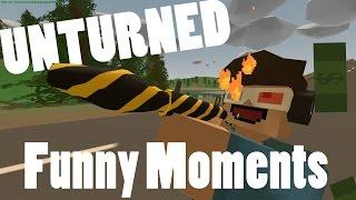 Unturned: Funny Moments W/ Dizzyd, Dylza, Melikebigboom