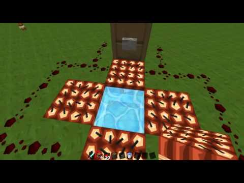 Minecraft Tutorial: How to Make a TNT Elevator 1.6.4