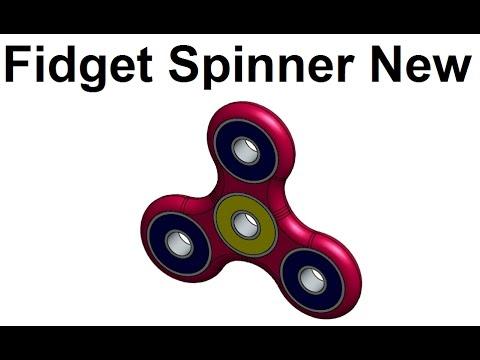 How to Make Fidget Spinner New