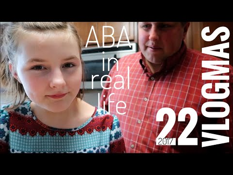 ABA Therapy Is Real Life | Vlogmas 22
