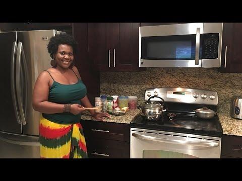 How to make Haitian rice with beans (diri kole)