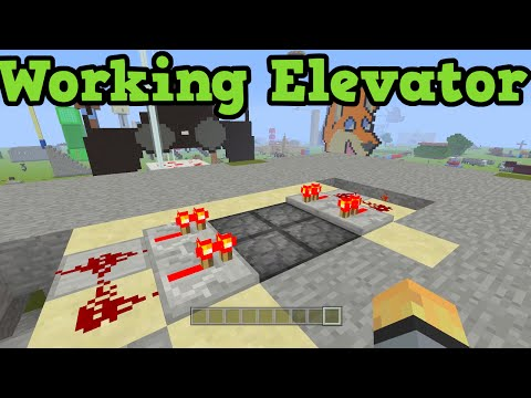 Minecraft Xbox 360 + PS3 - How To Make A Redstone Elevator (Pistons)