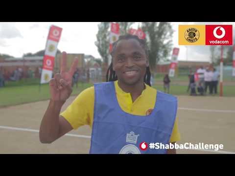 The Vodacom #ShabbaChallenge - Netball with Siphiwe Tshabalala
