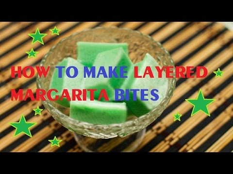 How to Make Layered Margarita Bites