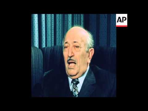 SYND 23 11 78 NAZI HUNTER DR. SIMON WIESENTHAL INTERVIEWED