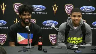 Watch : Remy Martin Post Game Interview Vs Stanford, Wearing The Philippine Flag