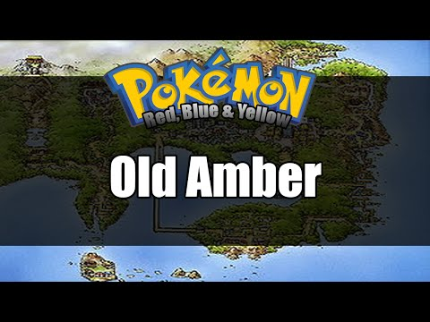 Pokemon Red/Blue/Yellow - Where to get Old Amber