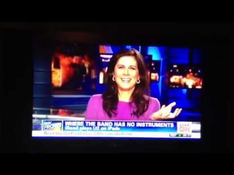 iBand featured on CNN with Erin Burnett Live in Boston 2012