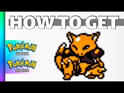 HOW TO GET Abra in Pokemon Gold and Silver