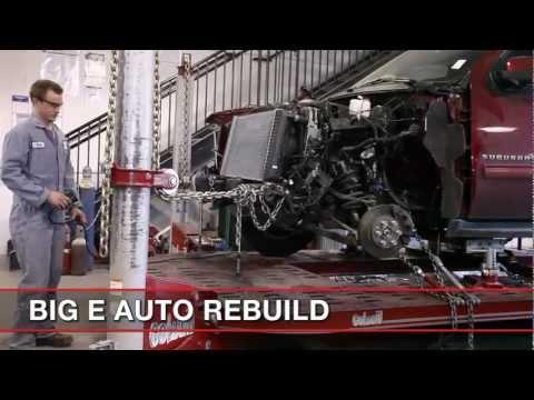 Auto Body Repair - Straighten Frame
