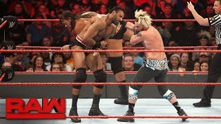 Enzo Amore & Big Cass vs. Rusev & Jinder Mahal: Raw, Jan. 16, 2017