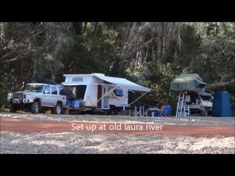 Cape york trip starting at Cook town to old laura along battle camp road
