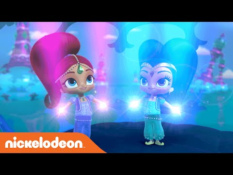 Shimmer and Shine   Theme Song   Music Video   Nickelodeon
