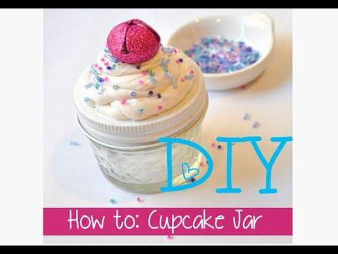 DIY Cupcake Mason Jar/Stocking Stuffer: 12 Days of Crafting