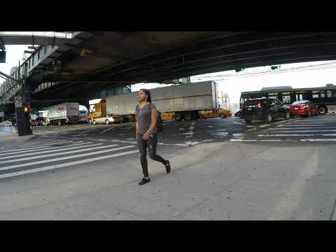NYC Gridlock/Traffic Jam Clips (Road Rage) - Queens Boulevard & Skillman Avenue October 6, 2017