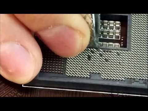 CPU Socket Pins Repair Z97-G45 LGA 1150 #2