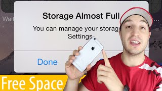 How To Manage Storage And Free Up Space On The Iphone Ipad Ipod Touch