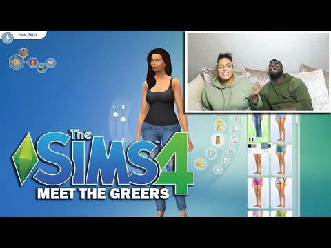 CREATING THE GREERS ON SIMS 4! | The Mum