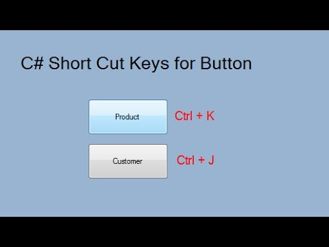 Hotkey to button in C# Windows application