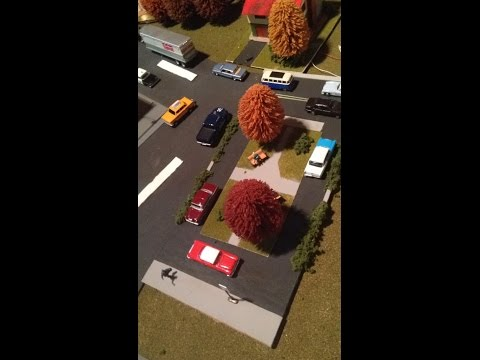 How to Build an HO Scale Town Square Model
