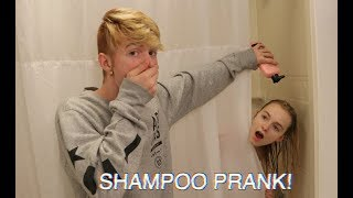 """SHAMPOO PRANK ON ZOE IN THE SHOWER! """"HILARIOUS"""""""