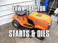 Fixing A Lawn Tractor That Starts & Dies