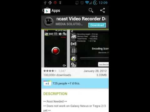 How to capture your Screen on Almost ANY Rooted android device above 1ghz