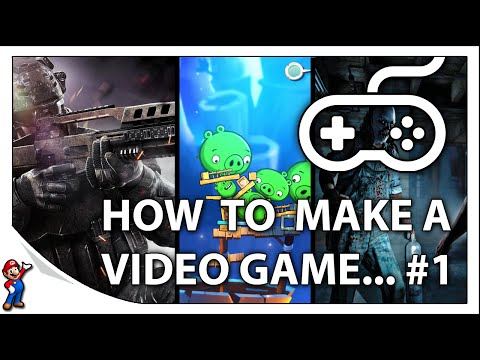 How To Make Video Games - #1 An Introduction To Game Design