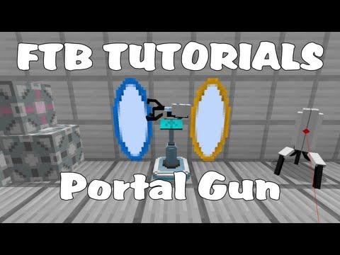 Feed The Beast Tutorials - Default Portal Gun