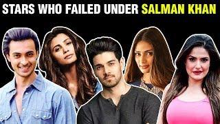 Salman Khan UNLUCKY For Debutants | Top 10 Stars Who Failed Under Salman Khan