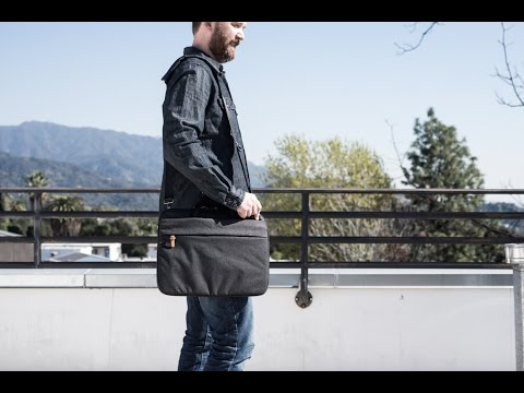Superslim laptop bag for MacBook Pro with touch bar by Booq